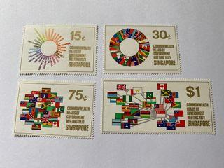 Singapore 1971 commonwealth heads of meeting mnh