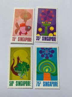 Singapore 1972 festivals mnh