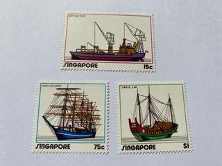 Singapore 1972 shipping series mnh