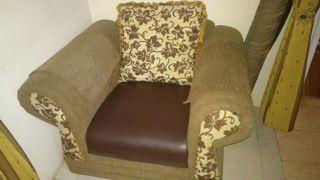 Sofa Santai Classic 1 Seat Lengkap Dengan Bantal Sender
