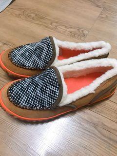 全新加拿大品牌Sorel圖騰毛編休閒鞋