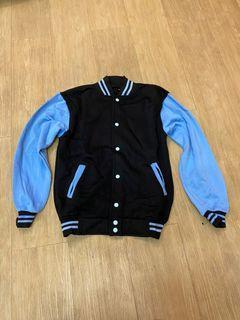 Varsity jacket blue black