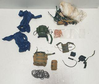 12 inch army soldiers accessories  lot