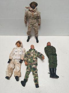 12 inch army soldiers figure lot D