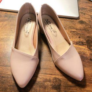 上班族包鞋23.5cm(只穿一次)
