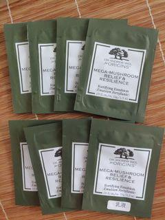 $25/8包包郵 mega mushroom relief and resilience fortifying emulsion 靈芝菇菌抗逆健膚水凝乳液