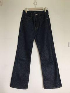 92 pleats 高腰牛仔褲