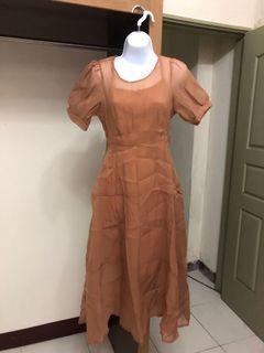 #618 韓版氣質中長款連衣裙