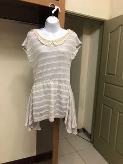 #618 不規則條紋洋裝