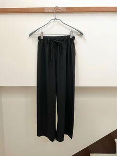 極簡日常的綁帶涼感寬褲💗 #618