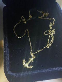 💯 18k gold necklace