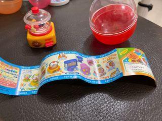 麵包超人玩具 絕版扭蛋