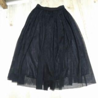 近新 韓製 黑紗裙