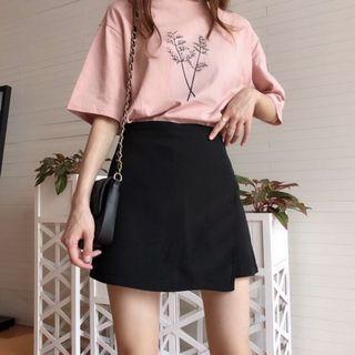 全新 黑色西裝A字短裙