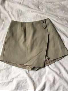 高腰褲裙 A字裙