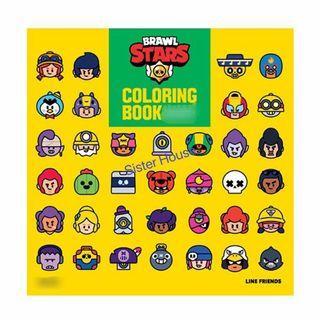 🇰🇷 Brawl Stars Coloring Book 荒野亂鬥填色冊
