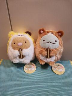 角落生物 Sumikkogurashi 毛毛系列 倉鼠系列 倉鼠造型 炸豬扒 龍龍 毛公仔