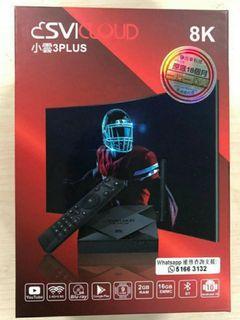 電視盒子 TV box 小雲3 plus