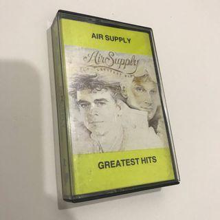 Air Supply Cassette Tape Kaset Vintage