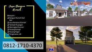 AMANAH | 0812-1710-4370 | Jasa Bangun Rumah 2 Lantai di Tulungagung, PANDAWA AGUNG PROPERTY