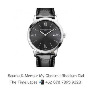 Baume & Mercier My Classima Rhodium Dial - New in Box - 2021