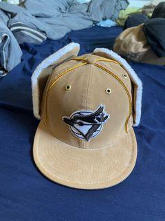 Beige Blue Jays Winter Cap