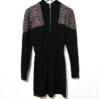 Bershka zipped dress