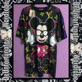 Brand New LV Mickey Louis Vuitton Design Dress (Pls READ description below👇)