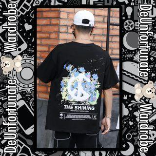 Brand New Oversized Korean Style Streetwear The Shining Cotton T-Shirt (Pls READ description below👇)