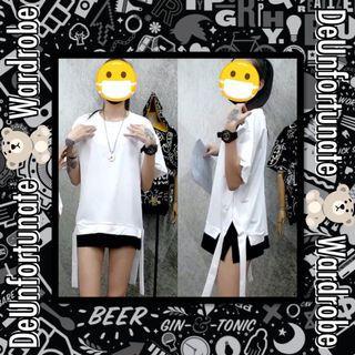 Brand New Oversized Unisex Korean Overlay Plain Cotton T-Shirt (Pls READ description below👇)