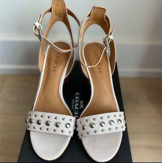 Coach retail sandal heels