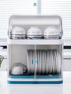 Convenient plate bowl cutlery rack,multi used, hygiene and neat/ 實用碗碟刀叉筷子架