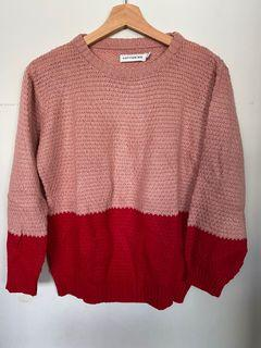 Cottonink two tone sweater
