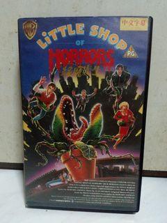 經典CULT片〈 綠魔先生〉 中文字幕 錄影帶 VHS 保存新淨 華納家庭影院