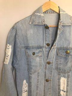 Denim Jacket washed blue all size