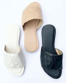 Diamond Flat Sandals