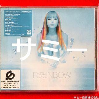 浜崎あゆみ ayumi hamasaki《 RAINBOW (レインボウ)🌈 》(🇯🇵日本盤)(5枚目のオリジナル・アルバム)