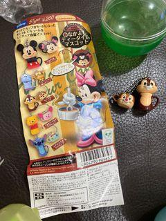 Disney chip n dale 鋼牙大鼻 絕版扭蛋