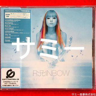 浜崎あゆみ ayumi hamasaki《 RAINBOW (レインボウ)🌈 》(🇯🇵日本盤)(初回特典盤)(5枚目のオリジナル・アルバム)(新品未開封)