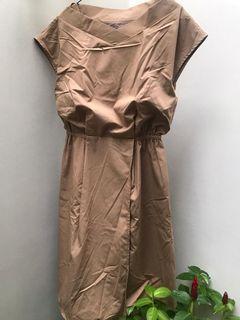 DRESS IMPORT - 12TWELVE AGENDA –MADE IN JAPAN - CREAM – ALLSIZE - MULUS