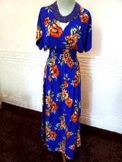 FANTASY FLOWER MAXI DRESS
