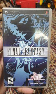 Final Fantasy I Sony Psp Game