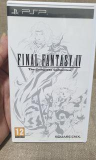 Final Fantasy IV The complete collection Sony Psp Game