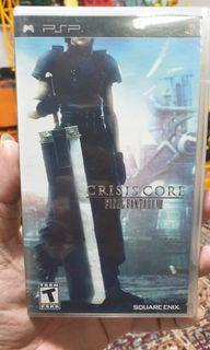 Final Fantasy VII Crisis Core Sony Psp game
