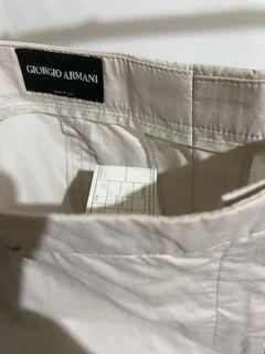 Giorgio Armani 卡其質感褲