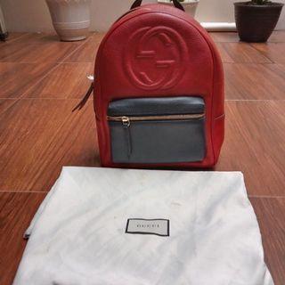 Gucci backpack authentic pl VVGC