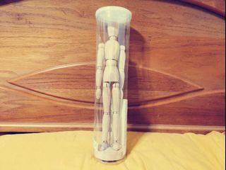 IKEA木偶飾品原木色全新