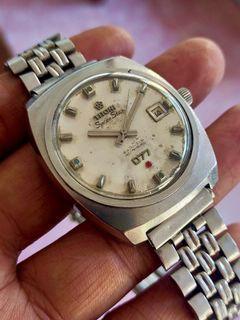 Jam Tangan Titoni Space 077 Star Automatic Swiss Vintage