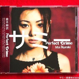倉木麻衣 MAI KURAKI《 Perfect Crime (パーフェクト・クライム) 》(🇯🇵日本盤)(2枚目オリジナル・アルバム)