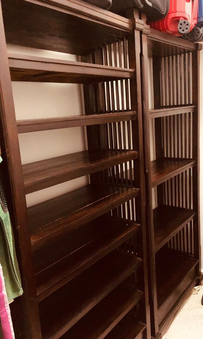 Large Wooden Storage Racks Furniture, Wood Storage Racks